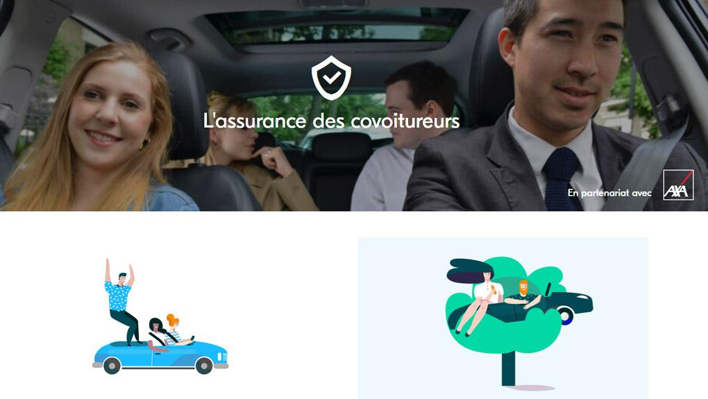 blablacar et axa r inventent l assurance pour les covoitureurs le hub. Black Bedroom Furniture Sets. Home Design Ideas